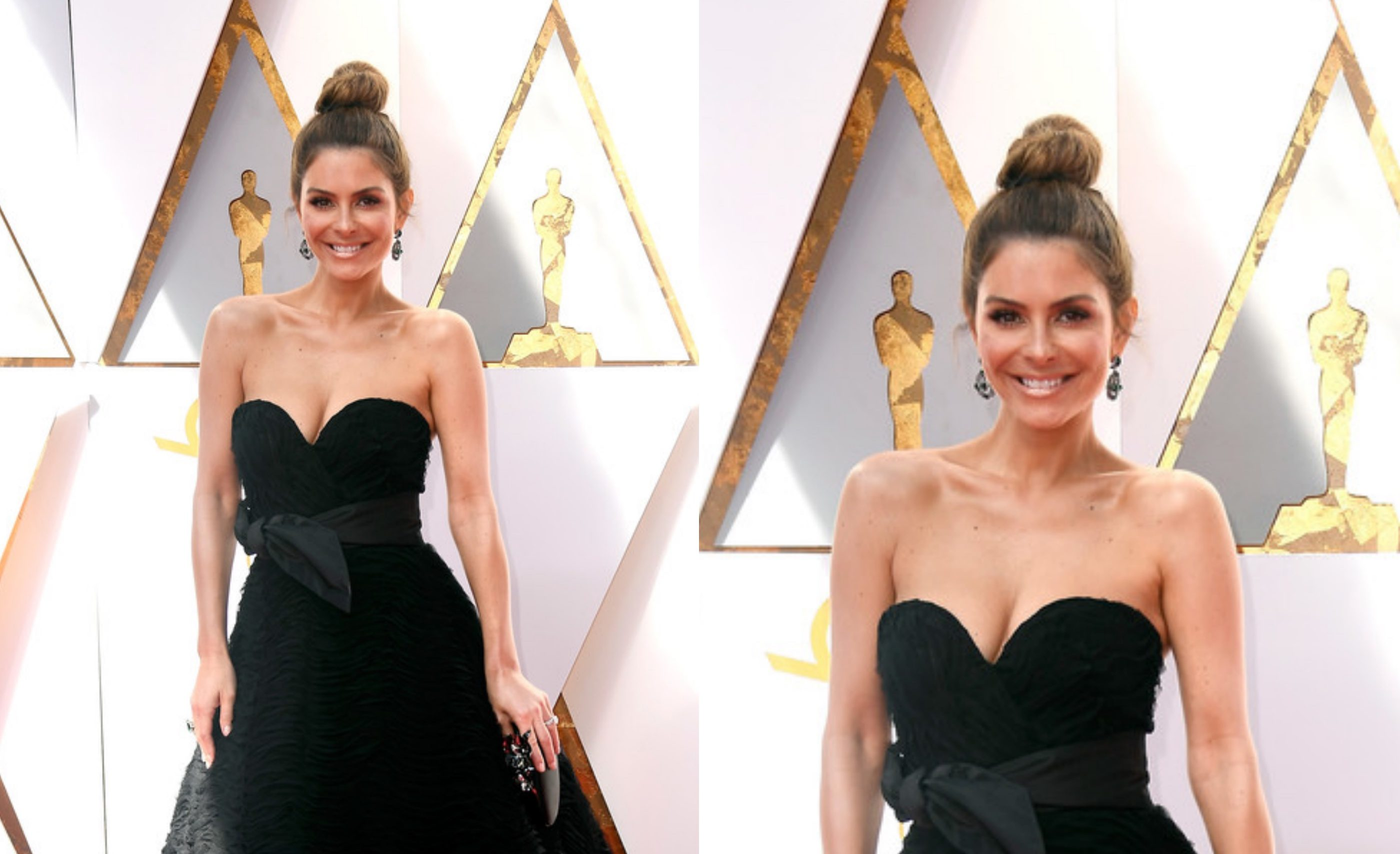 Maria Menounos wears Celia Kritharioti to the 2018 Oscars ...