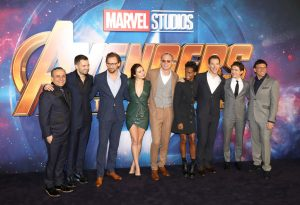 Cast Avengers: Infinity War UK Fan Screening London Premiere Event