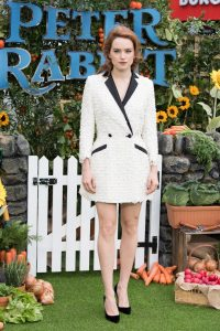 Daisy Ridley Peter Rabbit UK Gala Premiere Screening London