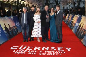 The Guernsey Literary and Potato Peel Pie Society World Premiere London Red Carpet