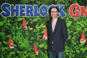 Stephen Merchant attends Sherlock Gnomes Family Gala Screening in London