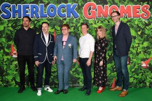 Voice cast and Filmmakers attend Sherlock Gnomes Family Gala Screening in London