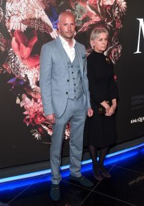 Gary McQueen and Janet McQueen attend the UK premiere of McQueen McQueen UK Premiere