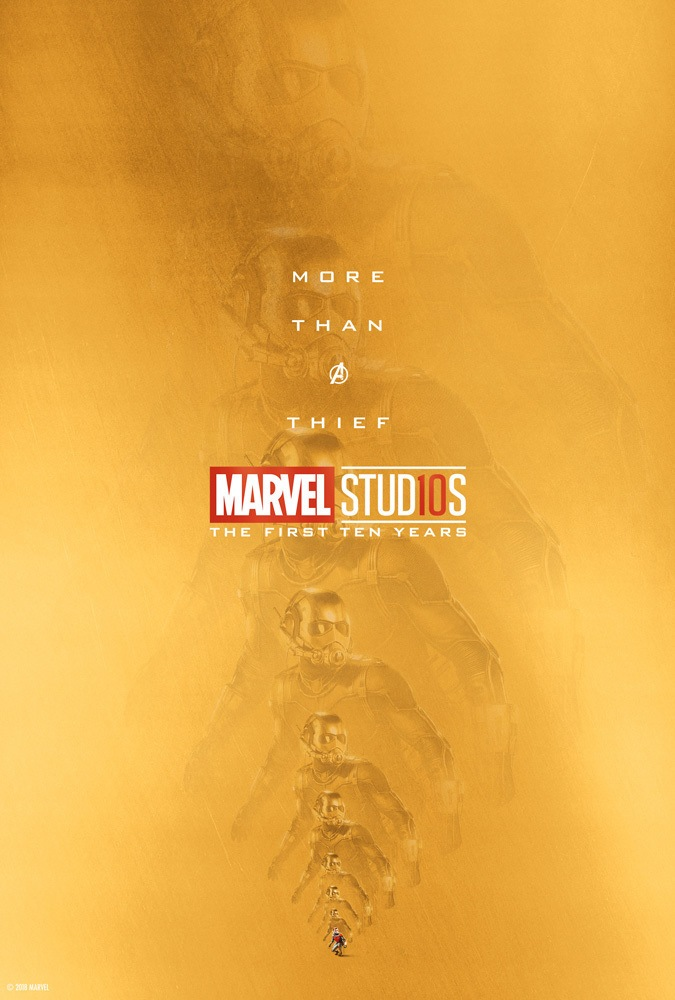 Marvel's More Than a Hero Poster Series to Celebrate 10th Anniversary of MCU - Ant-Man