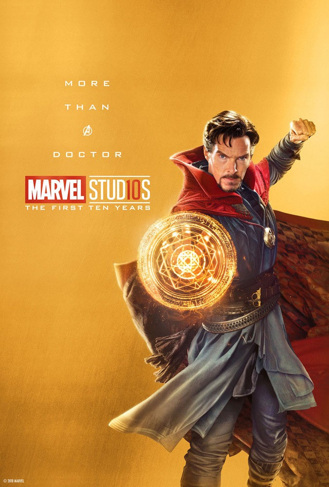 Marvel's More Than a Hero Poster Series to Celebrate 10th Anniversary of MCU - Doctor Strange