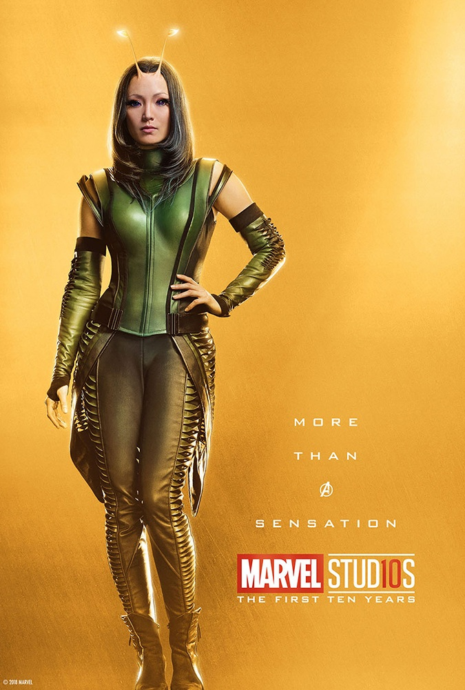 Marvel's More Than a Hero Poster Series to Celebrate 10th Anniversary of MCU - Mantis