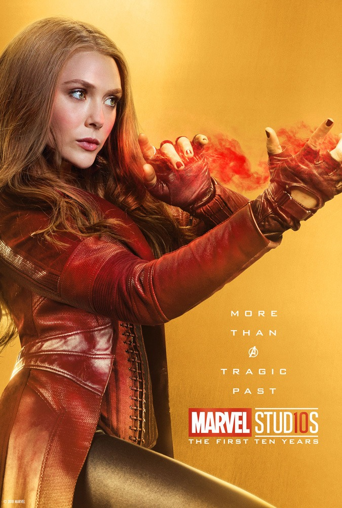 Marvel's More Than a Hero Poster Series to Celebrate 10th Anniversary of MCU - Scarlett Witch