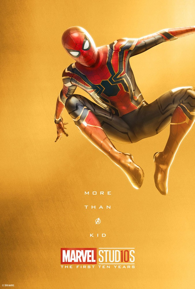 Marvel's More Than a Hero Poster Series to Celebrate 10th Anniversary of MCU - Spider-Man