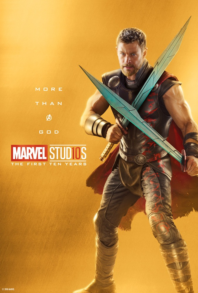 Marvel's More Than a Hero Poster Series to Celebrate 10th Anniversary of MCU - Thor