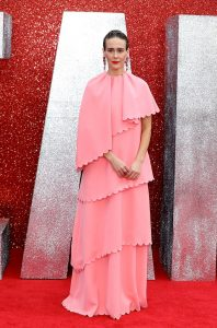 Sarah Paulson attends the European premiere of 'Ocean's 8' in London.