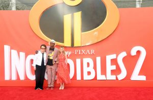 Billie Jean King, Samuel L. Jackson and Holly Hunter Incredibles 2 UK Premiere London Arrivals