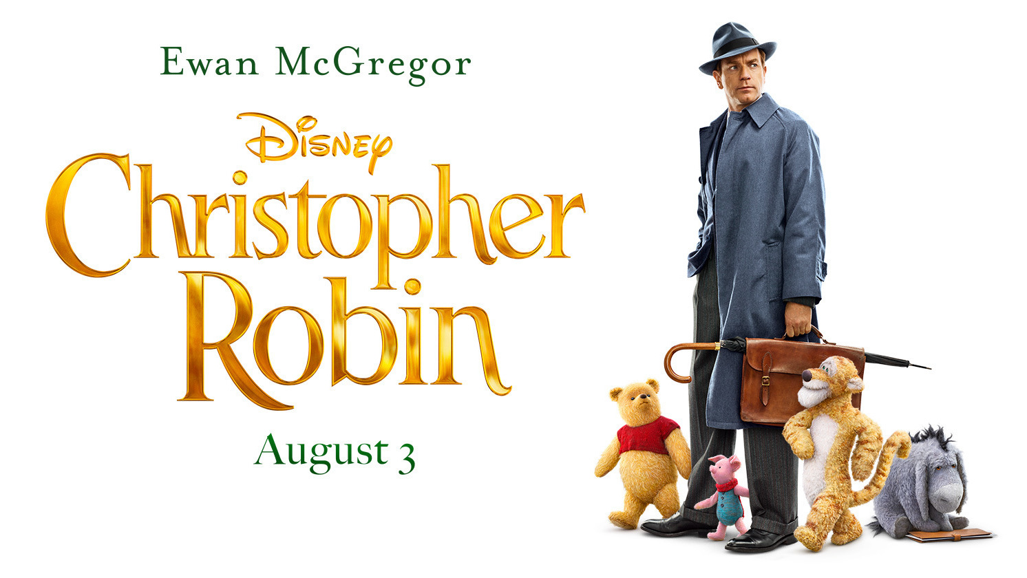 Christopher Robin Official Movie Poster