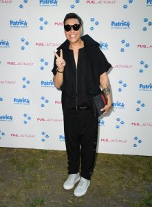 Gok Wan Patrick UK Premiere London