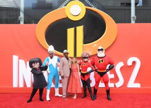 Samuel L Jackson and Holly Hunter Incredibles 2 UK Premiere London Arrivals