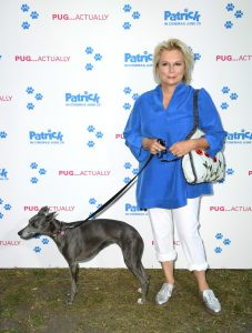 Jennifer Saunders Patrick UK Premiere London