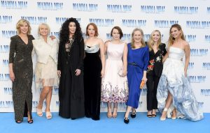 Ladies of Mamma Mia: Here We Go Again at the UK premiere in London