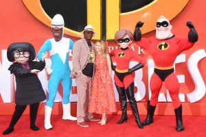 Samuel L. Jackson and Holly Hunter Incredibles 2 UK Premiere London Arrivals