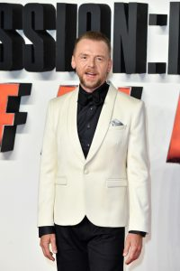 Simon Pegg attends the London premiere of 'Mission: Impossible - Fallout'