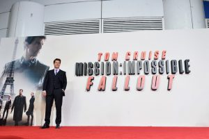 Tom Cruise attends the London premiere of 'Mission: Impossible - Fallout'