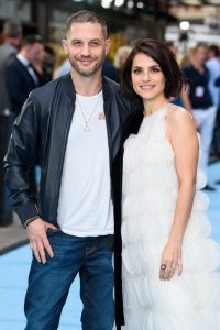 Tom Hardy and Charlotte Riley Swimming with Men UK Premiere Arrivals London