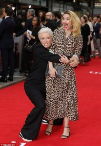 Emma Thompson and Hayley Atwell The Children Act London Premiere