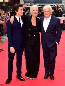 Fionn Whitehead, Emma Thompson and Richard Eyre The Children Act London Premiere
