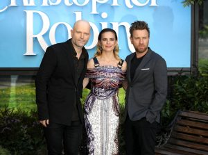Marc Foster, Hayley Atwell and EWan McGregor Christopher Robin London Premiere