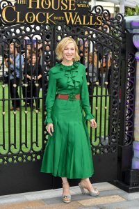 Cate Blanchett The House with a Clock in its Walls London Premiere