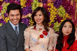 Henry Golding, Gemma Chan and Awkwafina Crazy Rich Asians London Screening