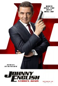 Johnny English strikes again official poster