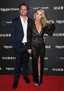 Milo Gibson and Lindsay Goodstein Hurricane UK Premiere