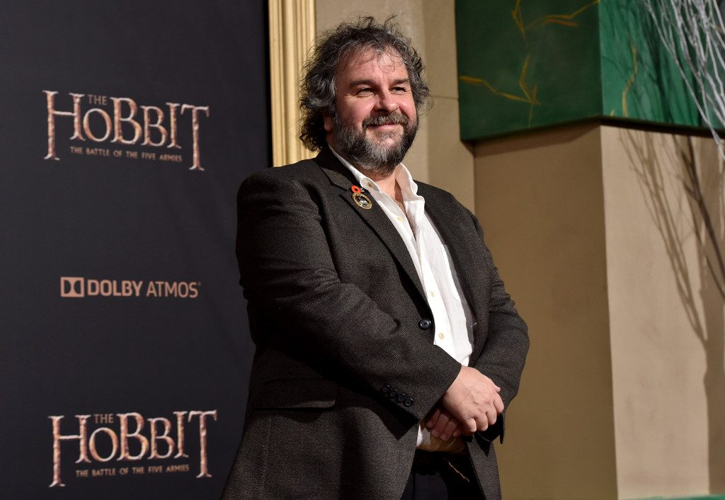 Peter Jackson The Hobbit Premiere