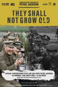 They Shall Not Grow Old Official Movie Poster