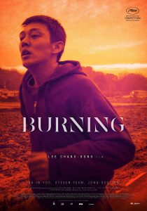 Burning poster BFI Film festival
