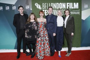 Cast of Wild Rose Wild Rose European Premiere during 62nd BFI London Film Festival