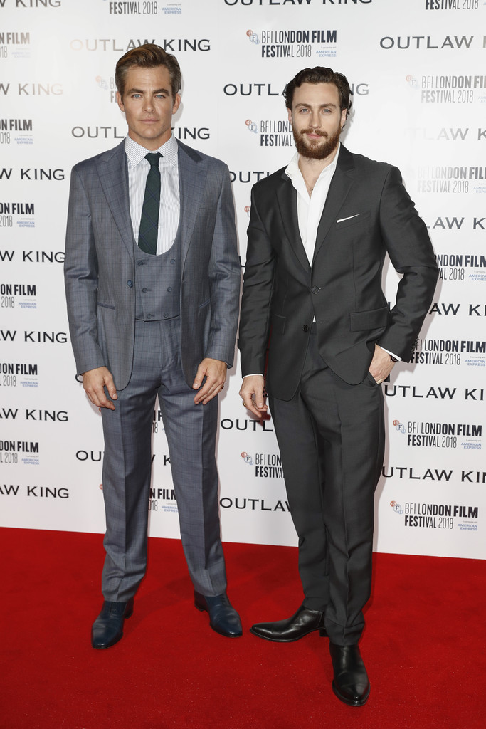 outlaw king  european premiere   u2013 whats on the red carpet