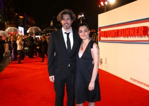 Jason Reitman and Liana Maeby The Front Runner premiere during 62nd BFI London Film Festival