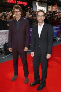 Joel and Ethan Coen The Ballad of Buster Scruggs premiere during 62nd BFI London Film Festival