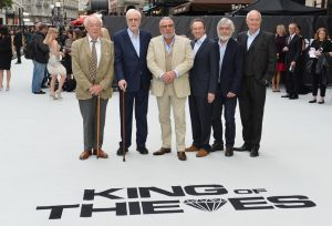 Cast of King of Thieves world premiere london