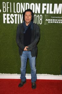 Lee Chang-Dong attends the UK premiere of Burning during 62nd BFI London Film Festival