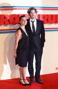 Liana Maeby and Jason Reitman The Front Runner premiere during 62nd BFI London Film Festival