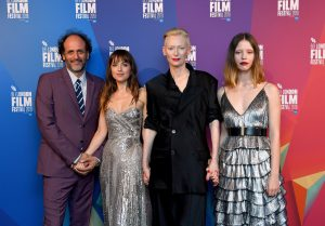 Luca Guadagnino, Dakota Johnson, Tilda Swinton and Mia Goth Suspiria UK premiere 62nd BFI London Film Festival