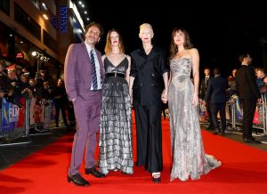 Luca Guadagnino, Mia Goth, Tilda Swinton and Dakota Johnson Suspiria UK premiere 62nd BFI London Film Festival
