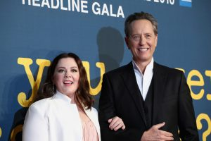 Melissa McCarthy and Richard E. Grant attend the UK premiere of Can You Ever Forgive Me? during the 62nd BFI London Film Festival.