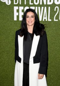 Nadine Labaki attends the UK premiere of Capernaum during 62nd BFI London Film Festival