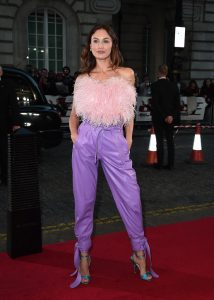 Olga Kurylenko attends the special screening of Johnny English Strikes Again in London