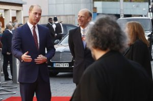 Prince William They Shall Not Grow Old premiere during 62nd BFI London Film Festival