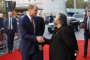 Prince William and Peter Jackson They Shall Not Grow Old premiere during 62nd BFI London Film Festival
