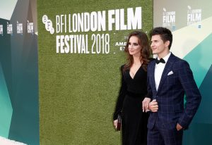 Regina Garina and Oleg Ivenko The White Crow premiere during 62nd BFI London Film Festival