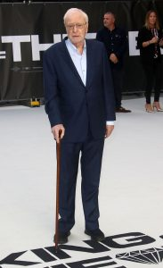 Sir Michael Caine King of Thieves World Premiere London